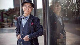 Bergaya modis, kakek 85 tahun ini jadi fenomena internet di China