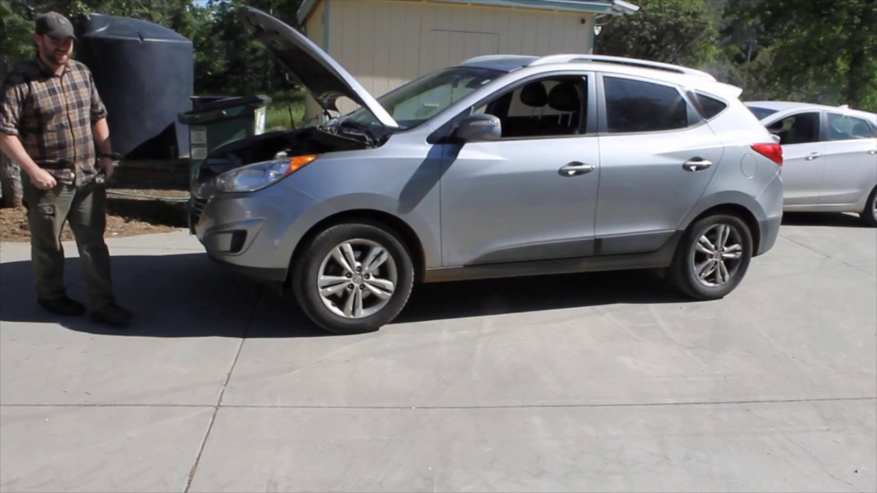 Hyundai 2012 Tucson Cam Shaft Sensors Codes P0014 and P0017