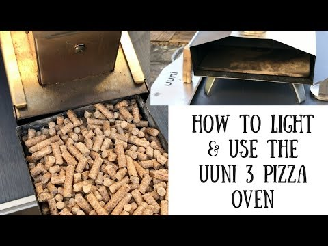 How to Light and Use the Ooni 3 Wood-fired Pizza Oven