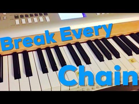 Break Every Chain | 4 Chord Easy Piano Lesson | Matt McCoy