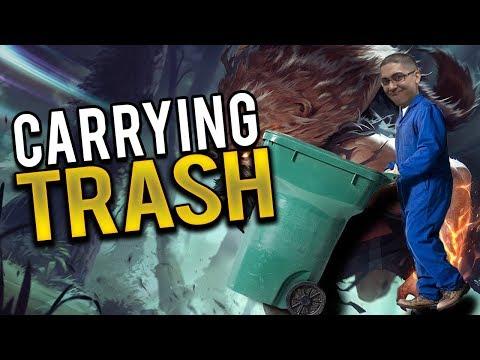 CARRYING TRASH IS HARD!!!!   DOTDYR TOP VS DARIUS ft Horsey - Trick2G