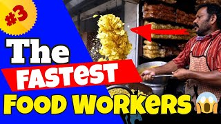 The Fastest Food Workers Compilation #3