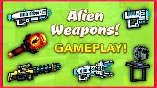 Pixel Gun 3D - Alien Weapon Gameplay!