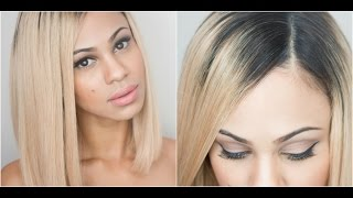 How I Apply My Full-Lace Wigs: Natural Looking Part thumbnail