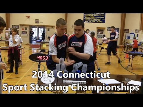 WSSA 7th Annual Connecticut Sport Stacking Championships - November 1, 2014