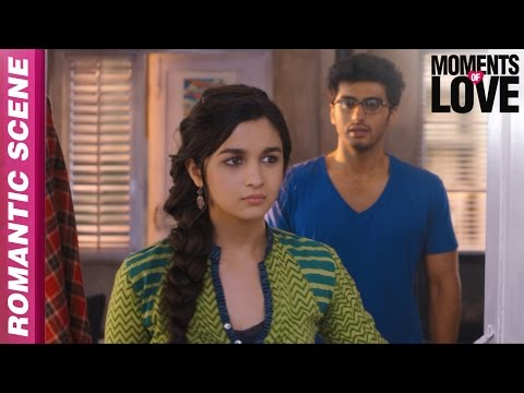 Ye Ladka Sirf Padhai Karta Hai - 2 States - Arjun Kapoor, Alia Bhatt - Moments of Love