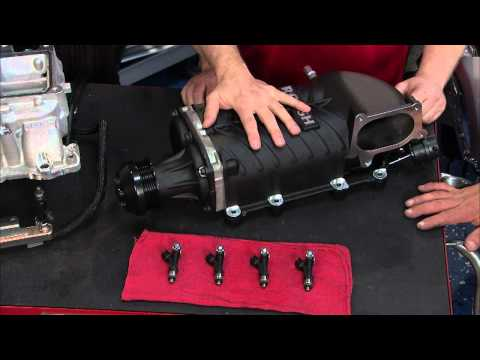 Two Guys Garage - ROUSH Performance Super Charger Install Clip