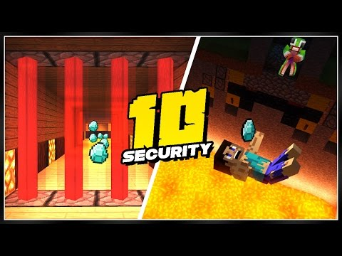 10 Awesome Minecraft Security Systems