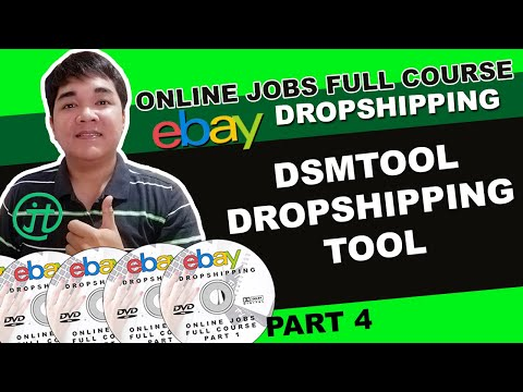 DSM Tool Ebay Dropshipping Tool Work From Home Online Philippines Tutorial Part 4