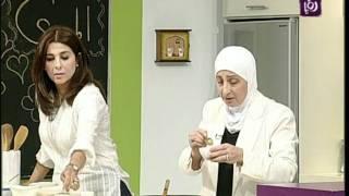 غادة التلي تستضيف هند التلي لتطبخ المندي الجزء 1   Roya