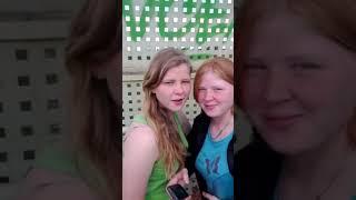 Русские девушки поёт Узбекский песни