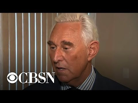 Extended interview: Roger Stone speaks to CBS News after arrest