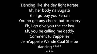 Wande Coal - Baby Hello (Lyrics Video)