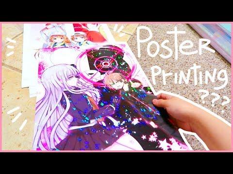 POSTER PRINTING WEBSITES - Studio Vlog 6