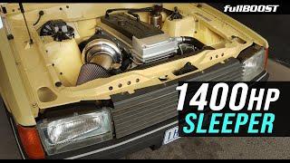 Chasing 7s in a SLEEPER Ford Barra | fullBOOST