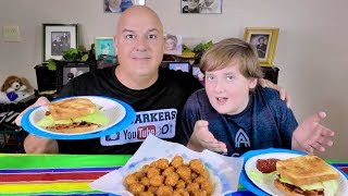 BLT Sandwich Mukbang  | The Barkers