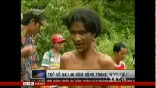 LEAVING VIETNAM JUNGLE AFTER 40 YRS - BBC NEWS