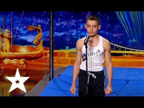 Джимбар от двенадцатилетнего Виктора - Украна ма талант-6 - Кастинг в Днепропетровске