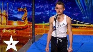 Джимбар от двенадцатилетнего Виктора - Україна має талант-6 - Кастинг в Днепропетровске