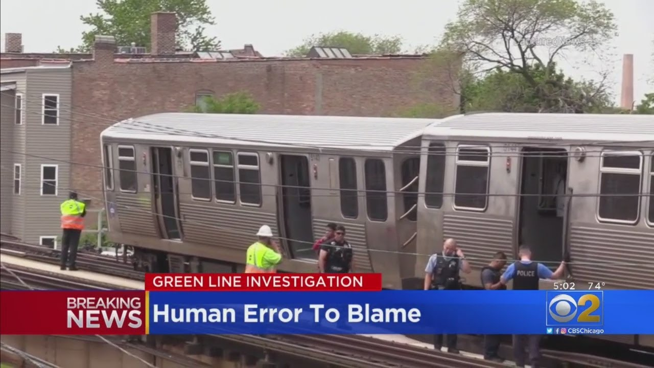 CTA Officials Cite 'Human Error' As Cause Of CTA Green Line Derailment
