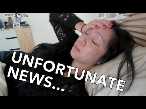 Unfortunate News- Dancember 06, 2014 ItsJudysLife Vlog