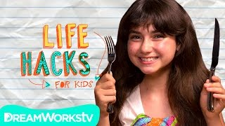 Bored at a Restaurant? | LIFE HACKS FOR KIDS