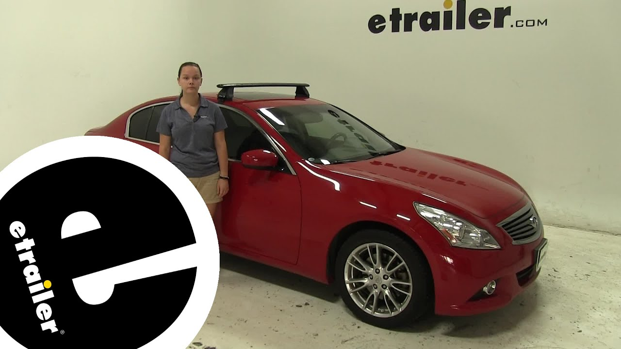 Review Of The Rhino Rack Roof Rack On A Infiniti