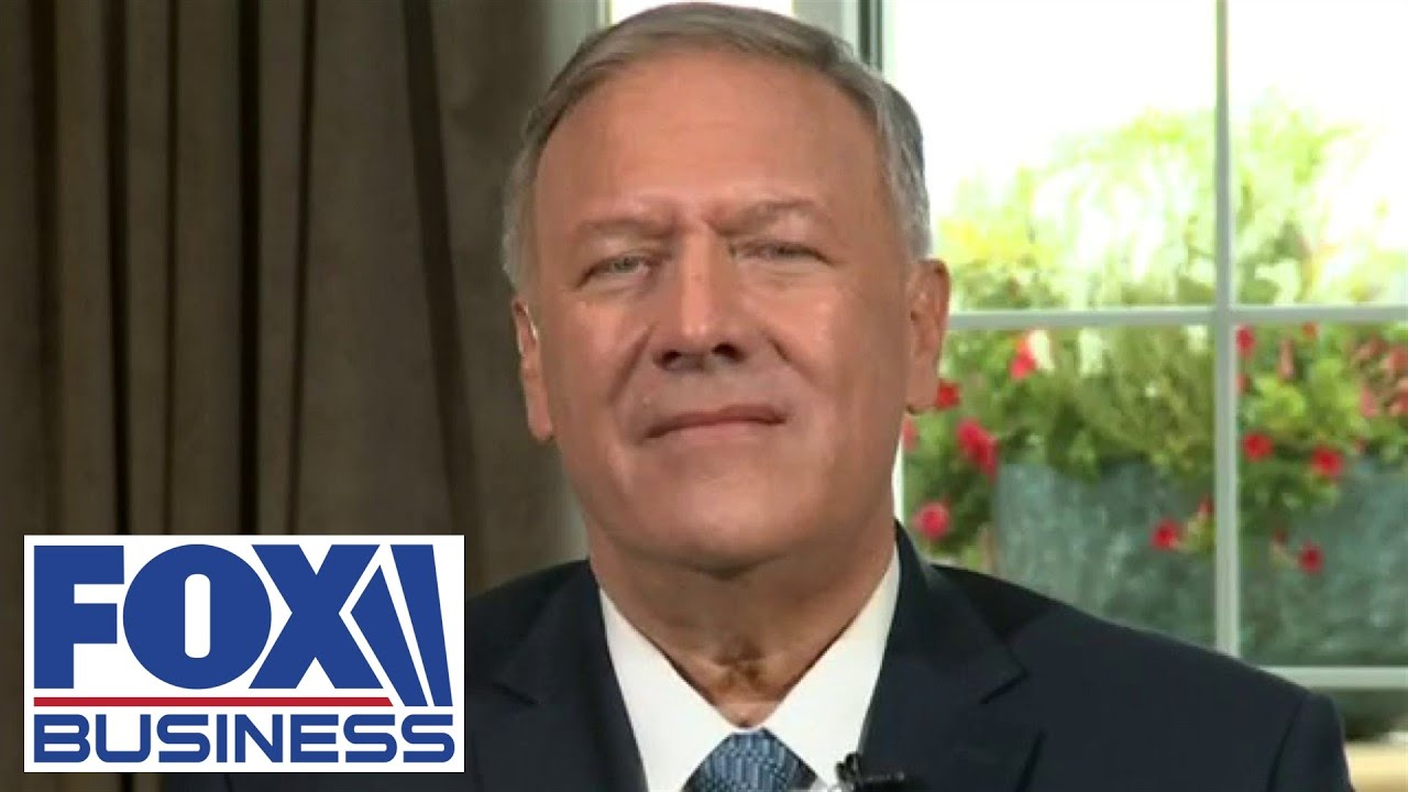 Download Mike Pompeo reminds Americans Trump admin drew down forces with no conflict