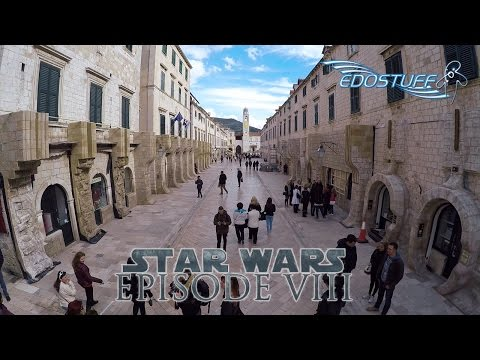 Star Wars Episode VIII - On Set in Dubrovnik - Croatia HD