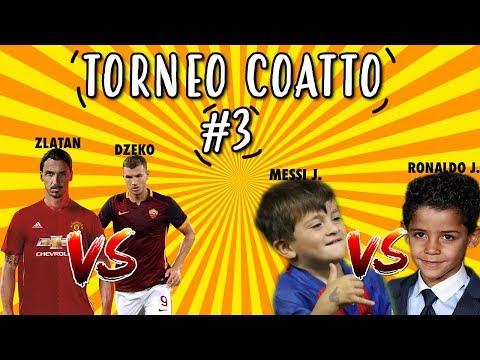 TORNEO COATTO #3: ZLATAN VS DZEKO MESSI JUNIOR VS RONALDO JUNIOR 