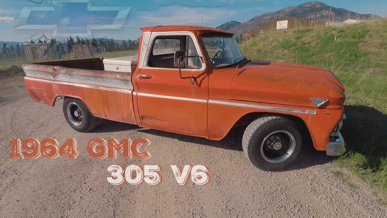 medium resolution of 1964 gmc custom cab pickup 305 v6 update