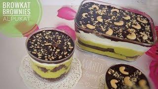 Cara Membuat Brownies Alpukat  BROWKAT  Kekinian