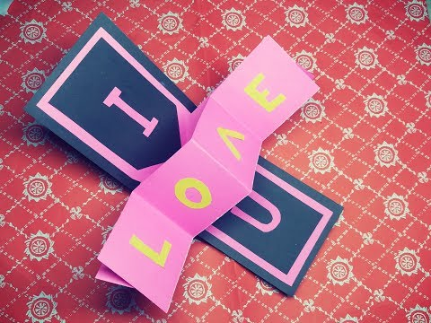 Pop Up Card For Valentine's Day | Easy Paper Card | DIY