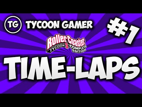roller Coaster Tycoon 3 Complete Edition Time-Laps #1  