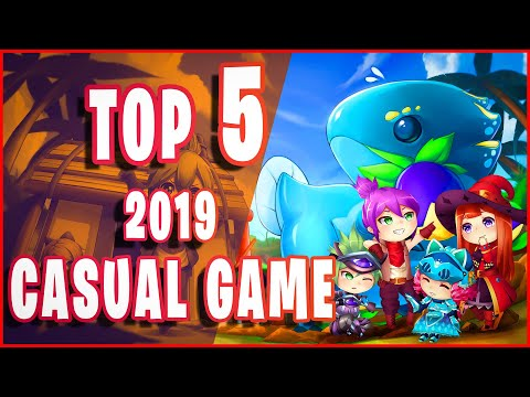 Top 5 Best Casual Game 2019 Low End Spec PC - Mutiplay Free Download Max Speed