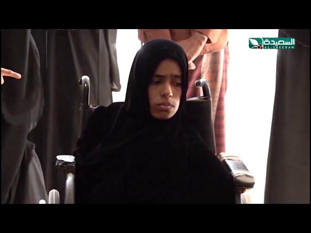 فاطمة صانون.. فتاة مهرية ترسم باعجاز رغم اعاقتها..