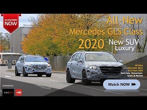 The 2020 Mercedes GLS Class, it's SUV Sport All New Luxury Car