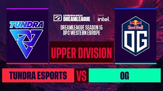 Dota2 - OG vs. Tundra Esports - Game 2 - DreamLeague S15 DPC WEU - Upper Division