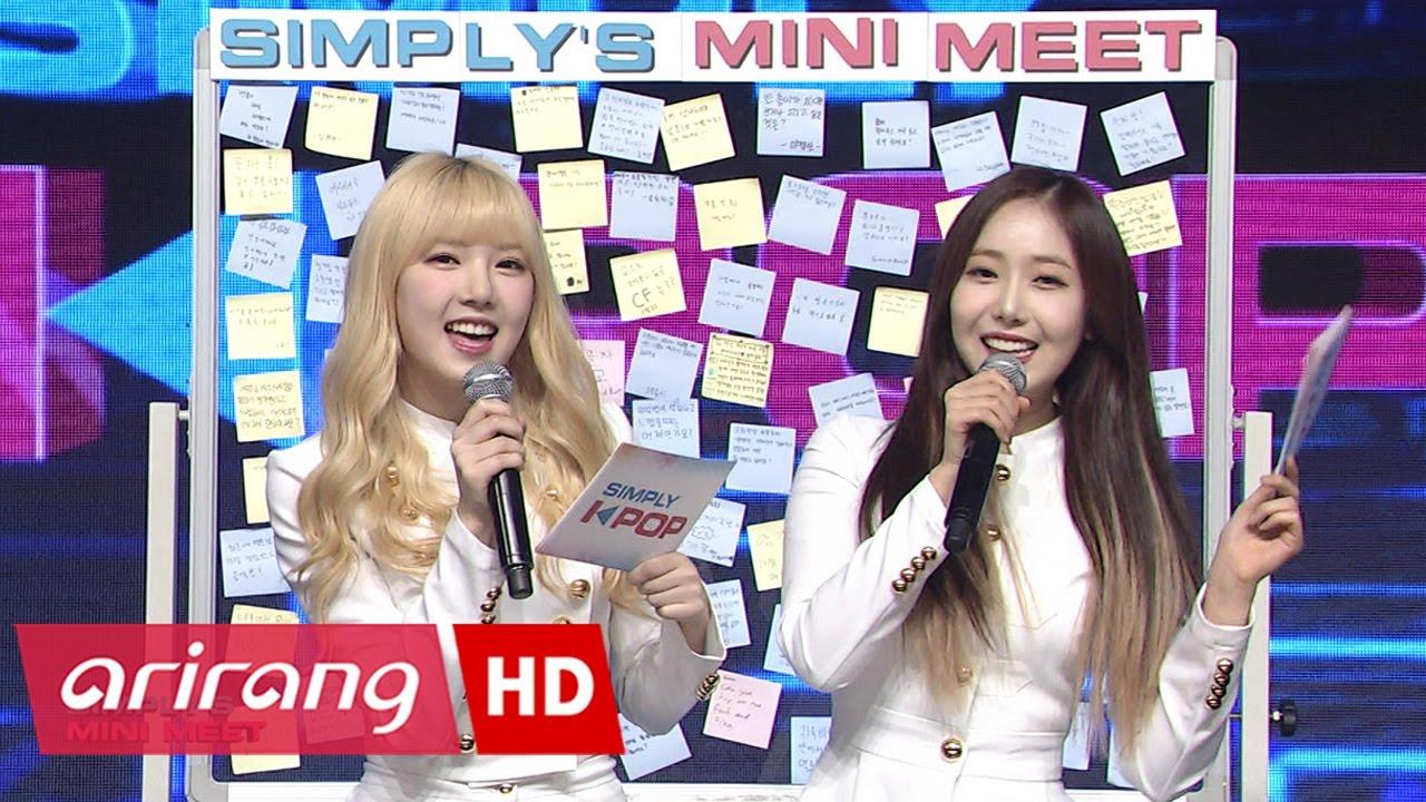 Download [Simply K-Pop] GFRIEND(여자친구) _ SIMPLY'S MINI MEET _ Ep.260 _ 041417
