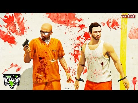 GTA 5 PRISON BREAK HEIST FINALE!! | EPIC GTA 5 Heist Job | NEW Heists DLC | GTA 5 Funny Moments PS4