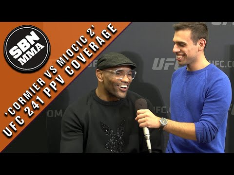 Wrestling for MMA: UFC 241's Yoel Romero