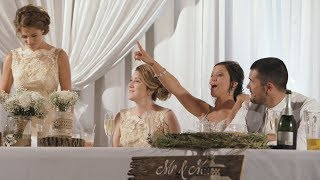 Love Story with a twist! Best Maid of Honor speech remix!