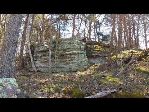 Spring Tease! Rock formation exploring on our land, April 2017!