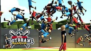 Super Footbrawl Playground - Slow Motion Explosions! - Footbrawl Gameplay