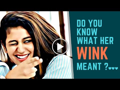 Psychology On Wink..!! What Each Wink Means??