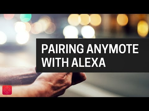 Pairing AnyMote with Alexa on an iPhone - YouTube