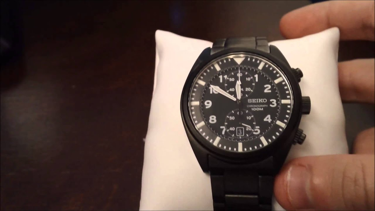 Best Watches For Men Seiko Snn233 Review Youtube