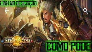 Heroes Arena -  PRIMEIRIAS IMPRESSÕES (TOP MOBA PARA ANDROID) [PT-BR]