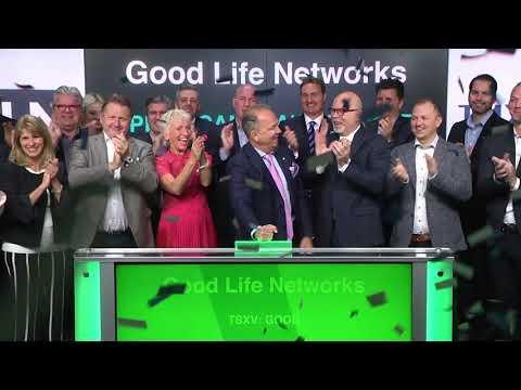 Good Life Networks opens Toronto Stock Exchange, April 3, 2018