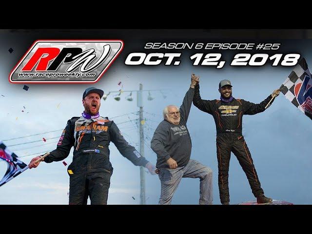 Race Pro Weekly - Season 6 Episode #25 - October 12, 2018